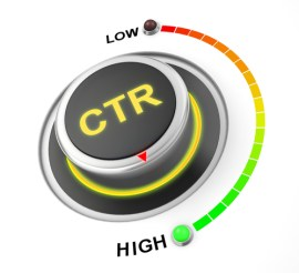 average click-through rate for display ads