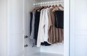 concept of the capsule wardrobe