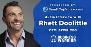 Business Warrior CEO Discusses Strategy and Scalability in Audio Interview with SmallCapVoice.com