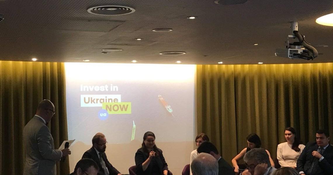 А. Біденко презентував бренд Ukraine NOW у Лондоні