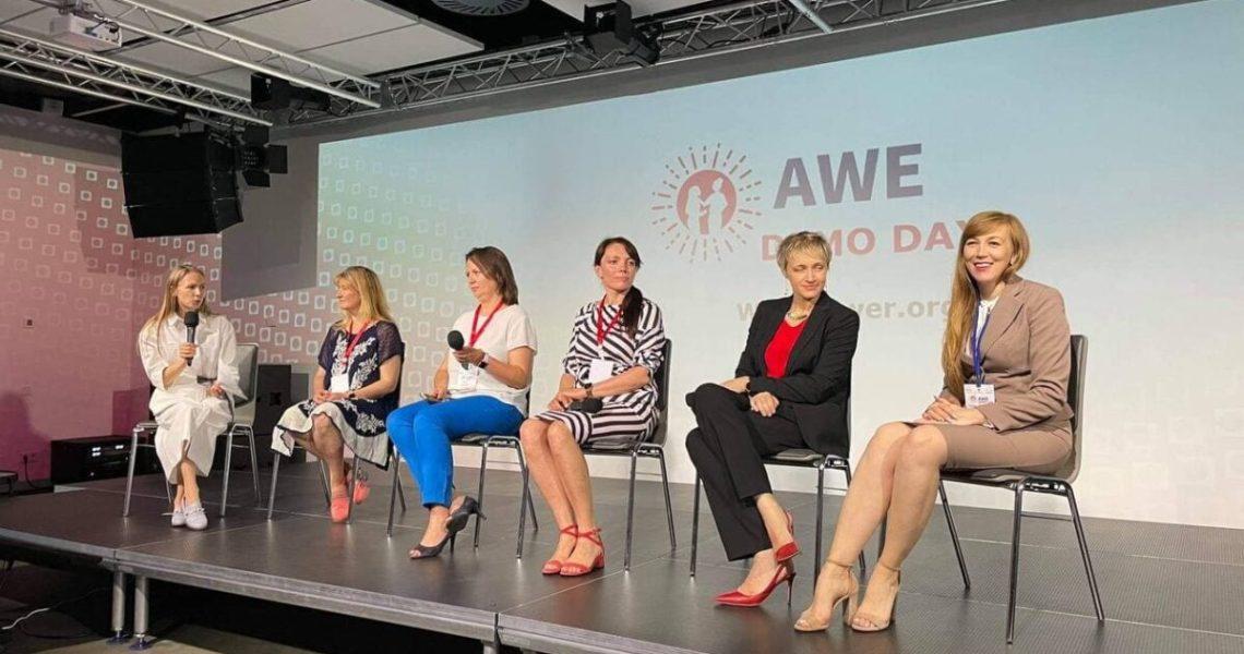 У Києві відбувся Фінальний форум Академії для жінок-підприємиць «AWE DEMO DAY-2021»