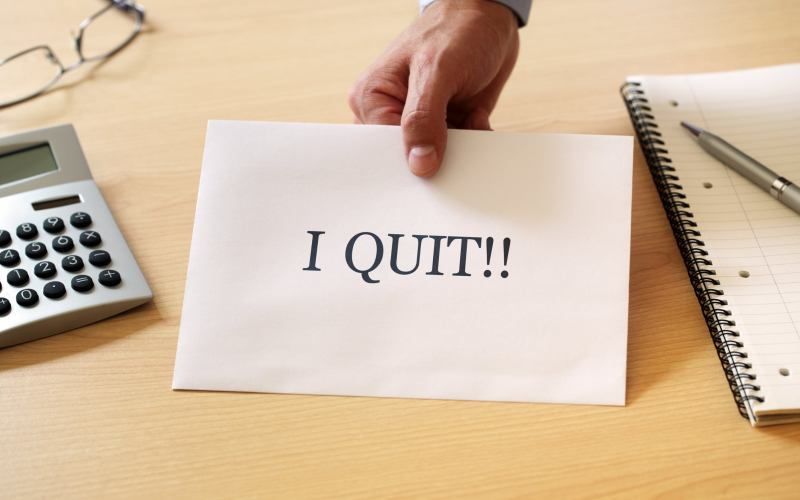 signs you should quit that job.