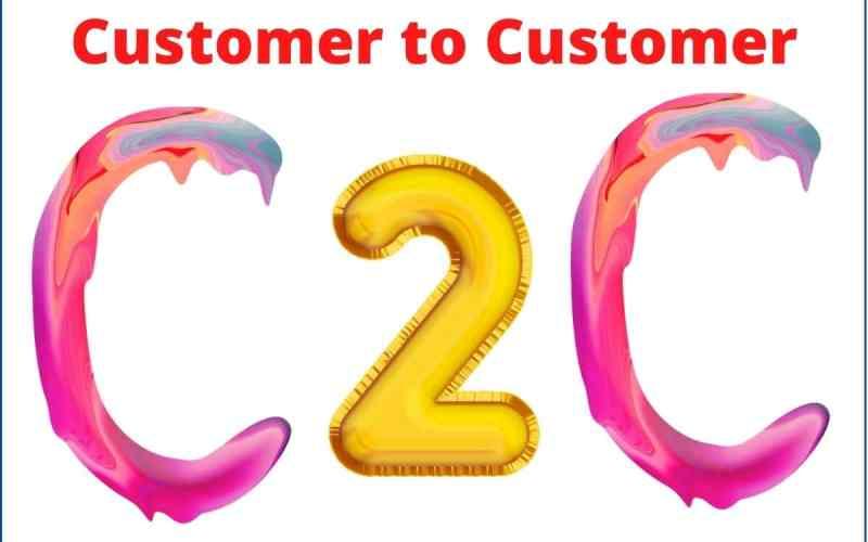 Customer-to-Customer