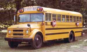 Image result for school bus from 1960