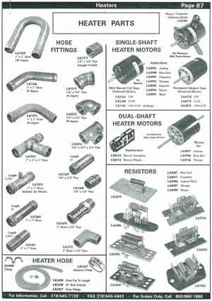 Heater Motors For School Buses