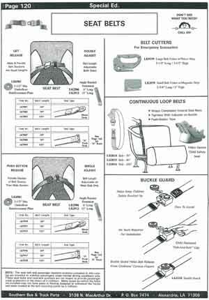 School Bus Seatbelt Cutters