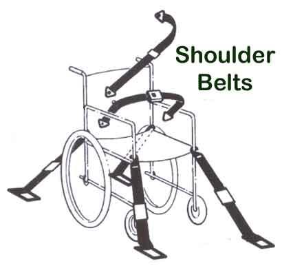 School Bus Wheelchair Shoulder Belts