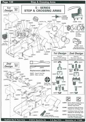 school bus parts diagram semi trailer tail light wiring specialty manufacturing stop arm