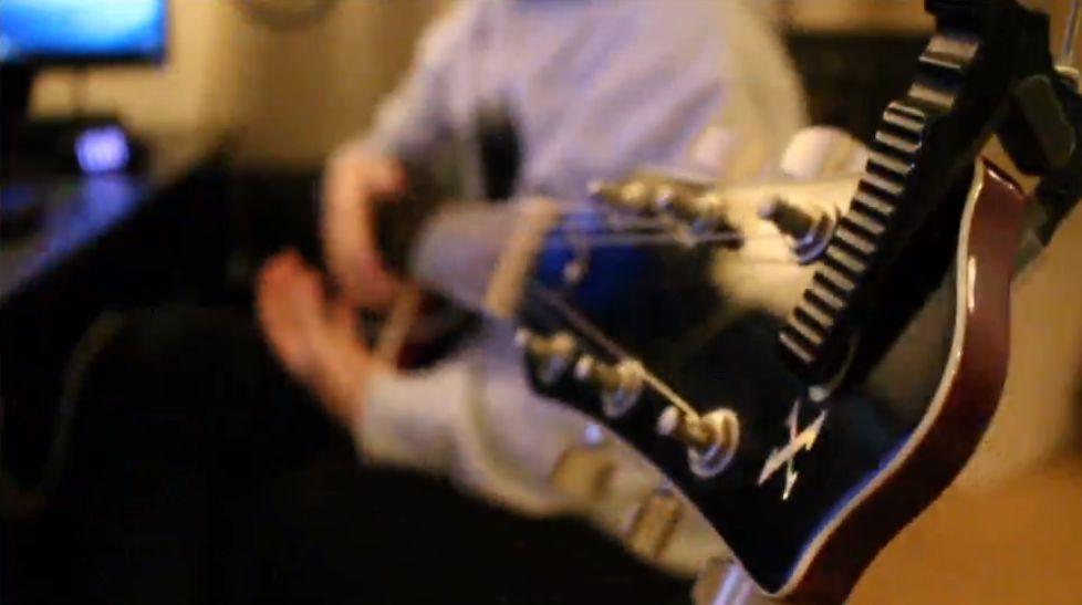 ギター配信をやってみました