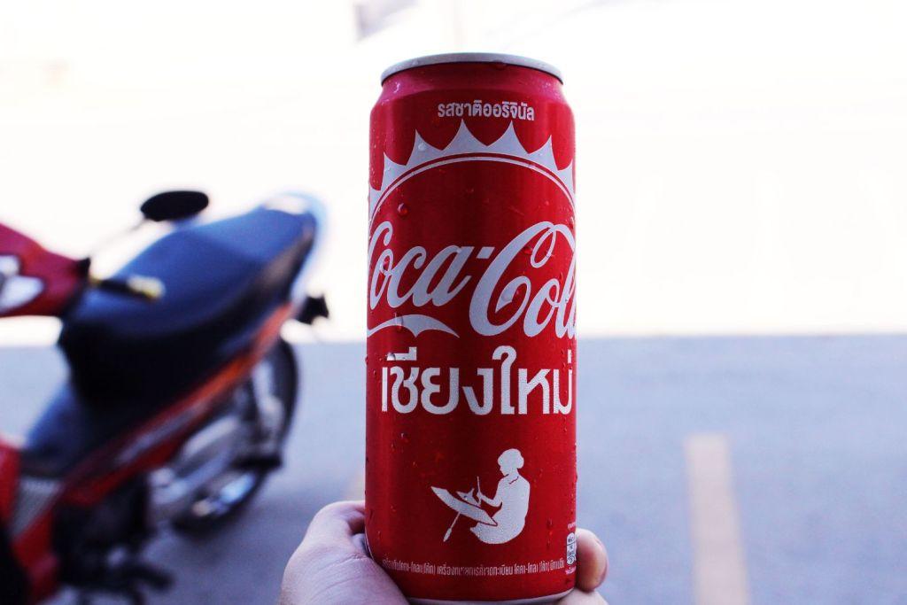 タイで買ったコーラ