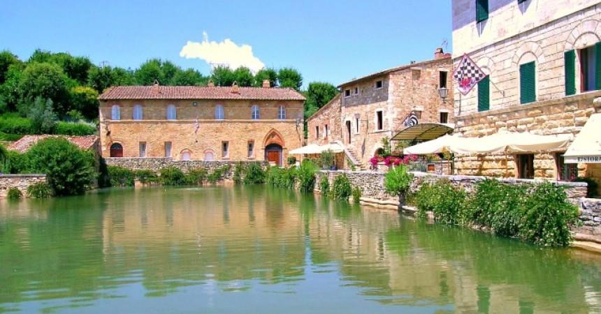 Un week end a Bagno Vignoni tra terme e storia