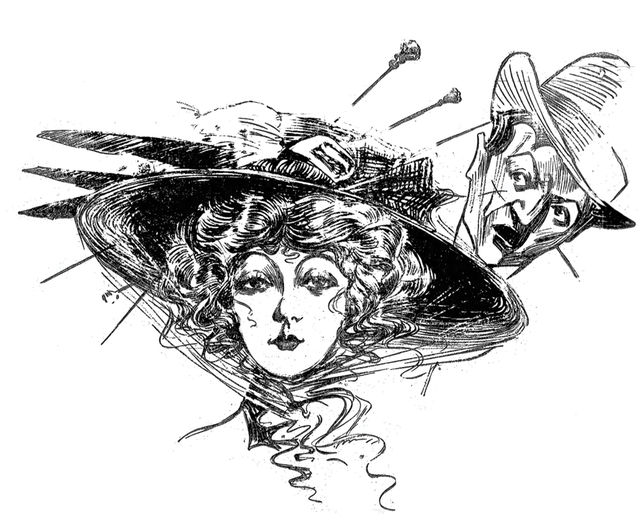 In The Early 1900s, Ladies Stabbed Harassers With Hatpins