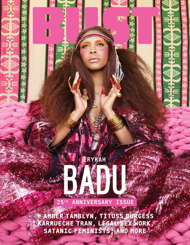 Erykah Badu Is Bust S Cover Star For Our 25th Anniversary