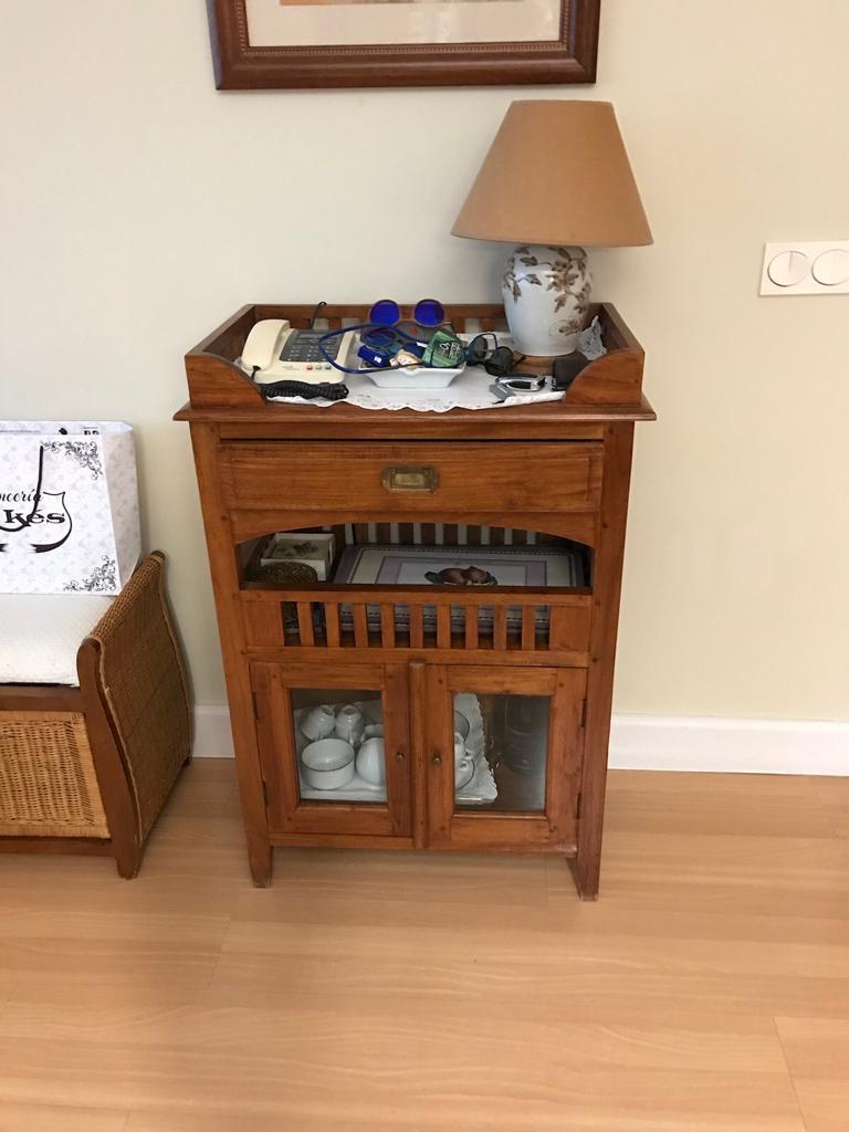 Mueble auxiliar comedor Somió antes