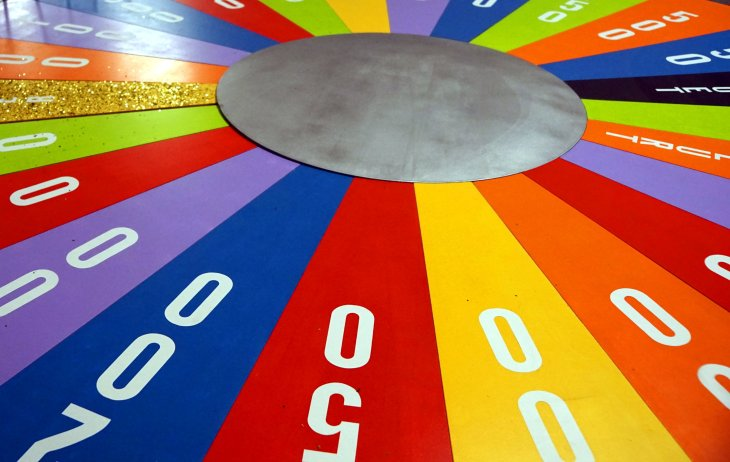 game show wheel