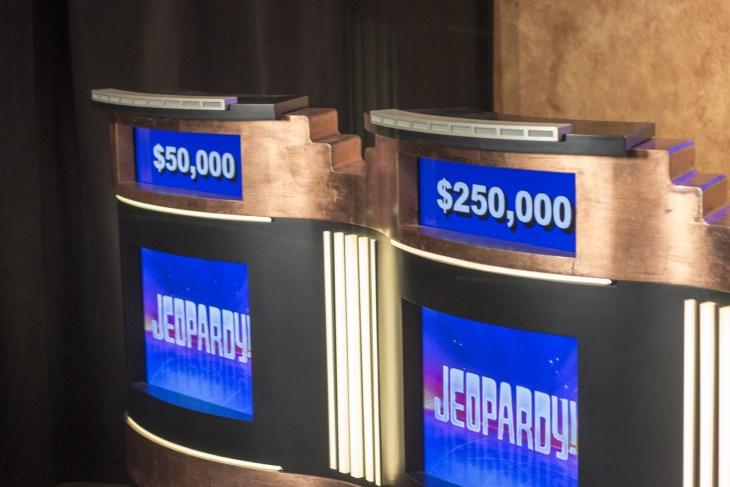 jeopardy podium