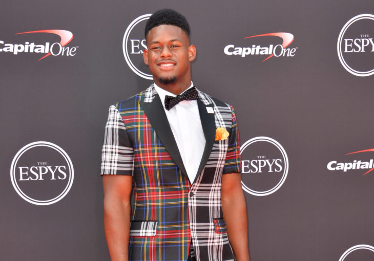 LOS ANGELES, CA - July 18, 2018: JuJu Smith-Schuster at the 2018 ESPY Awards at the Microsoft Theatre LA Live
