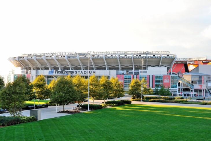 Cleveland, USA - October 21, 2018 - FirstEnergy Stadium in Cleveland, Ohio