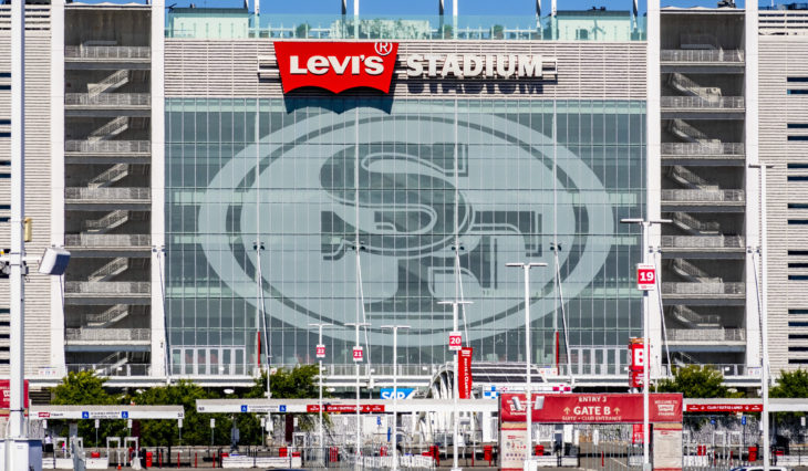 August 1, 2019 Santa Clara / CA / USA - Levi's Stadium, the New Home Of The San Francisco 49ers of the National Football League; Silicon Valley;