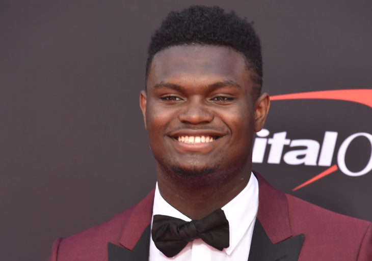 LOS ANGELES, USA. July 10, 2019: Zion Williamson at the 2019 ESPY Awards at the Microsoft Theatre LA Live. Picture: Paul Smith/Featureflash
