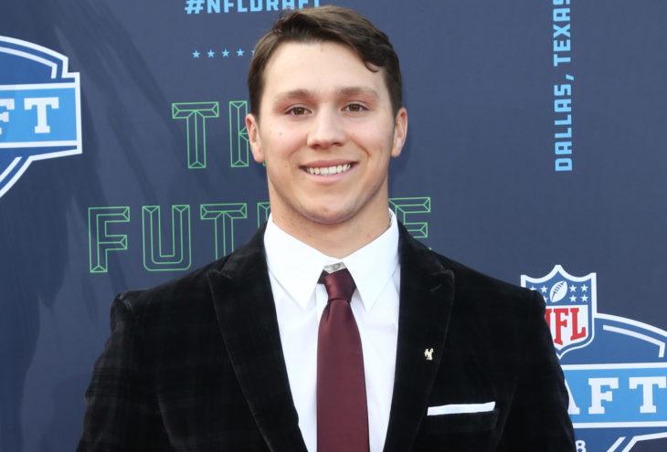 ARLINGTON, TX - Josh Allen attends the 2018 NFL Draft at AT&T Stadium on April 26, 2018 in Arlington, Texas.