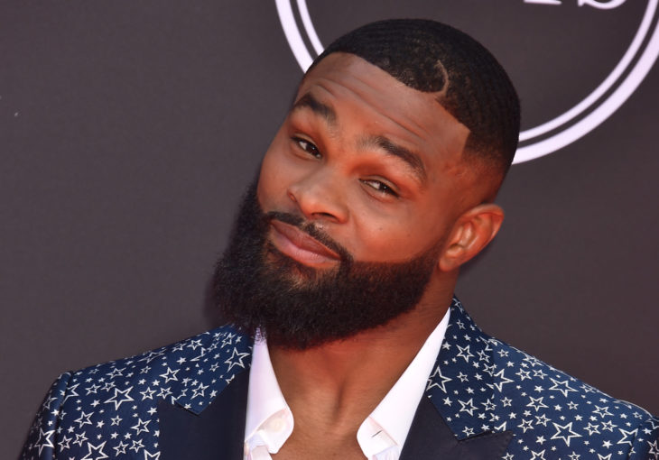 LOS ANGELES, USA. July 10, 2019: Tyron Woodley at the 2019 ESPY Awards at the Microsoft Theatre LA Live. Picture: Paul Smith/Featureflash