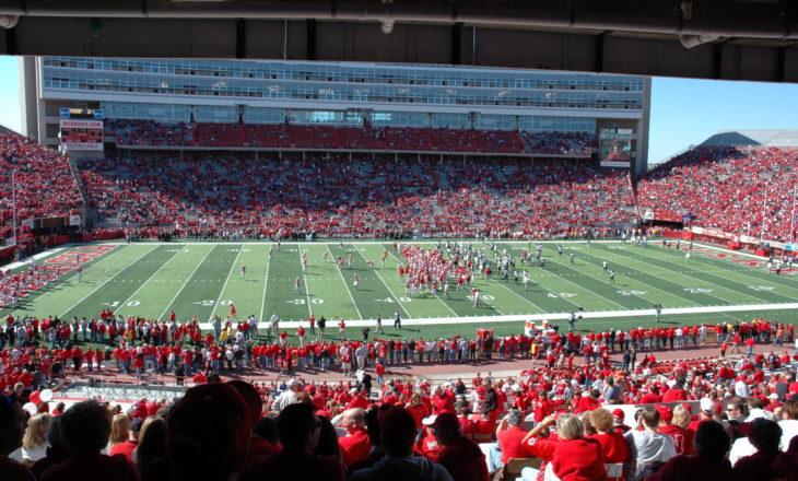 Memorial Stadium in Lincoln, Nebraska
