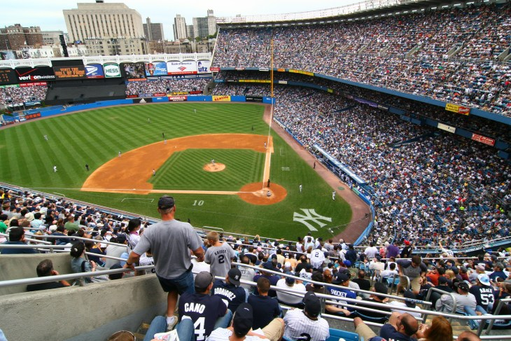 NEW YORK CITY - AUGUST 19:. The Yankees are at home playing against Tigers on August 19, 2007 in Yankee Stadium, New York City.