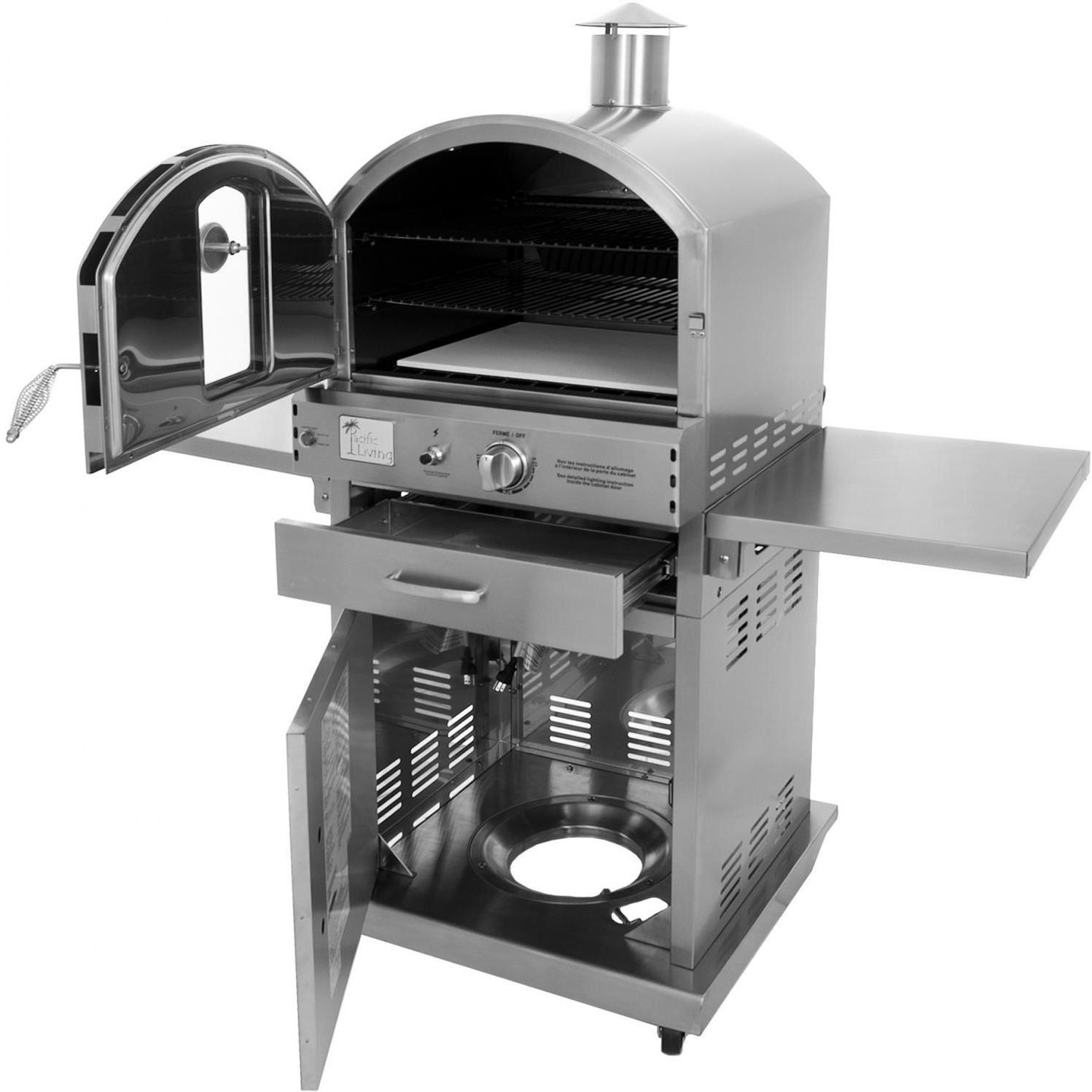 Pacific Living Outdoor Oven Backyard Review Busted Wallet