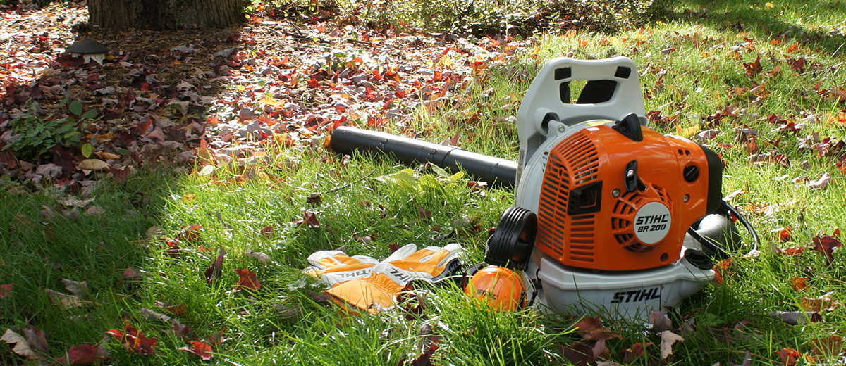 STIHL BR 200 Backpack Blower Review | Busted Wallet