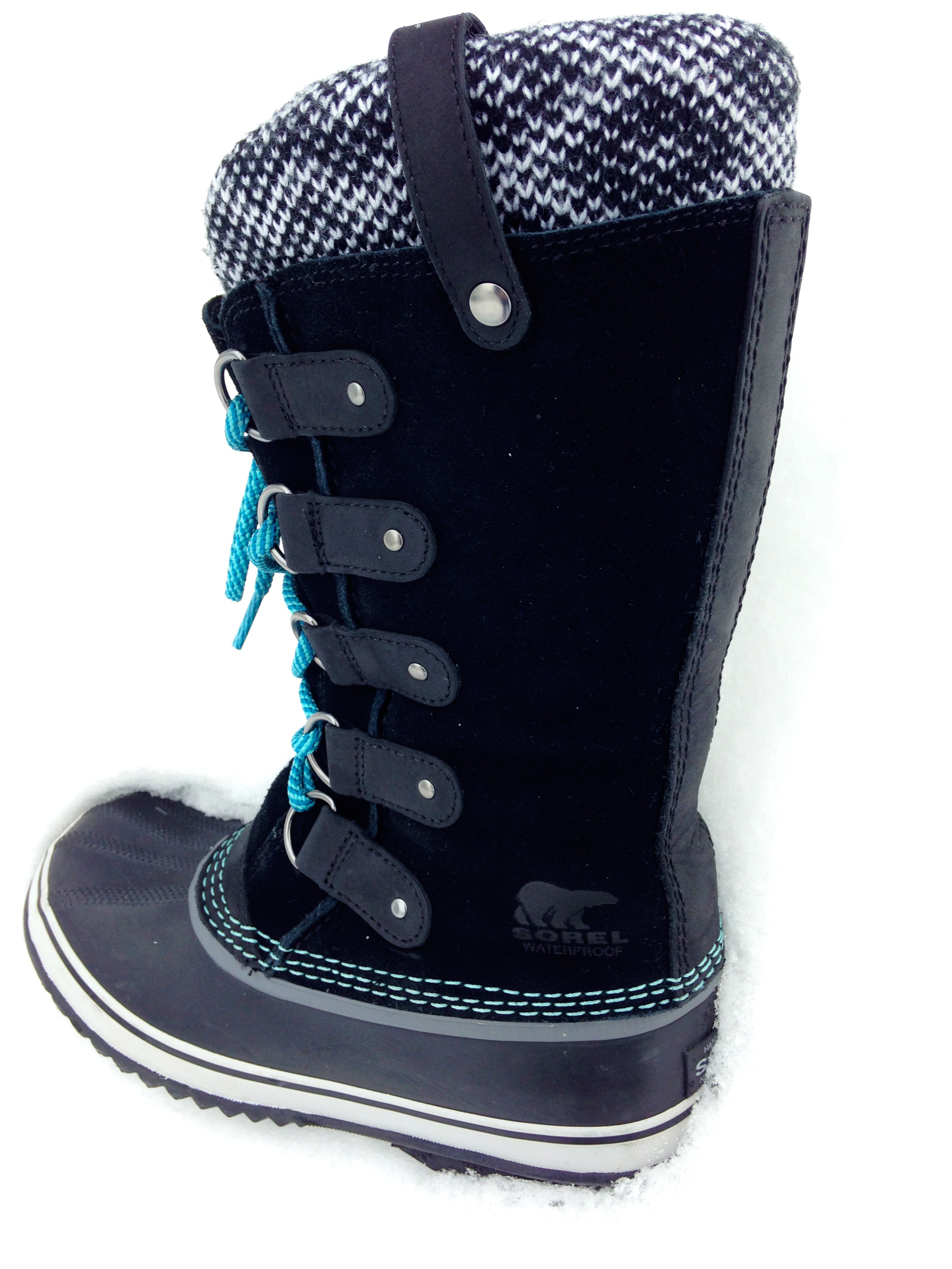 sorel joan of arctic knit boot gear review busted wallet. Black Bedroom Furniture Sets. Home Design Ideas