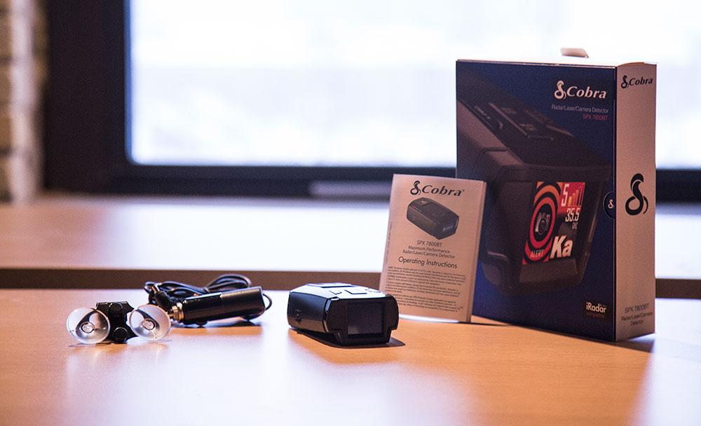 Cobra SPX 7800BT Radar Detector - Tech Review   Busted Wallet