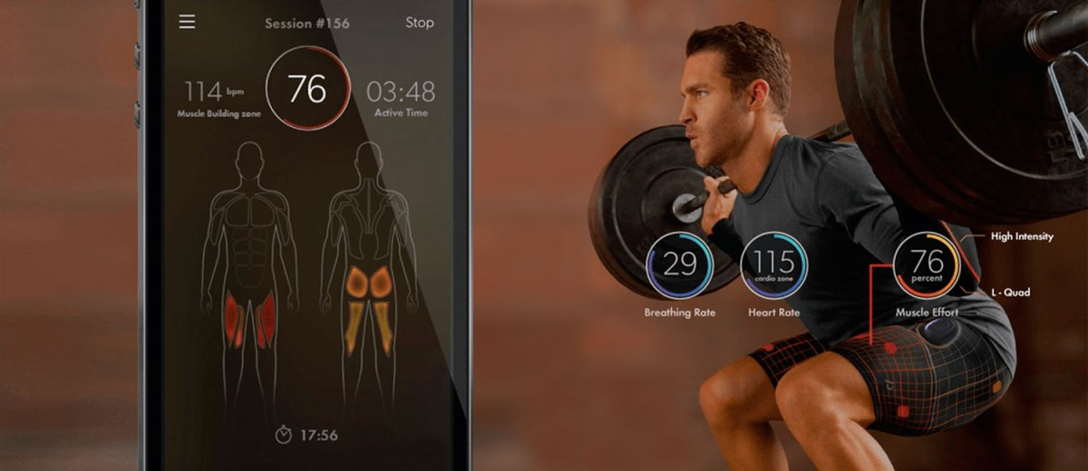 Athos Wearable Fitness Technology | Busted Wallet