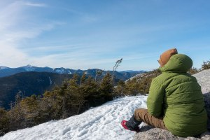Overlooking the Great Range from the summit of Dix Mountain. Photo credit: Paul Ray