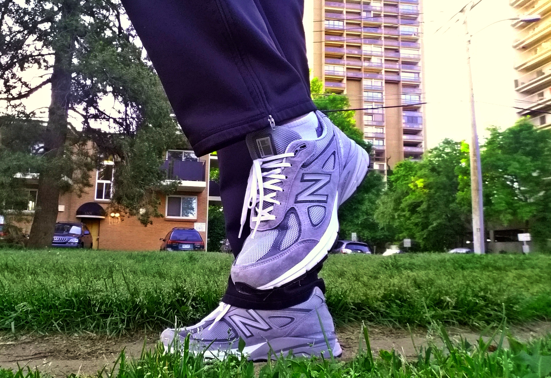 low priced 7e4a6 28ee1 New Balance 990v4 - Fitness Review | Busted Wallet