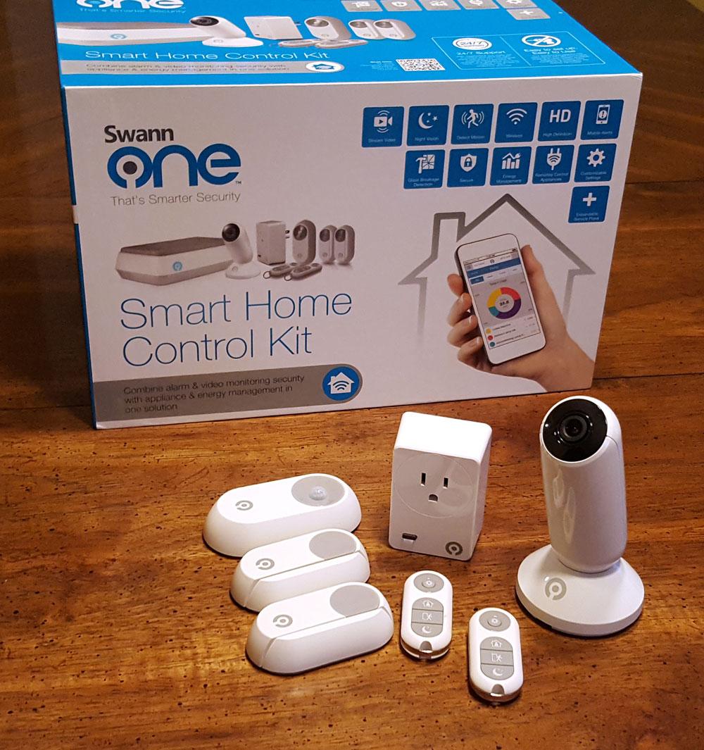 swannone smart home control kit busted wallet. Black Bedroom Furniture Sets. Home Design Ideas