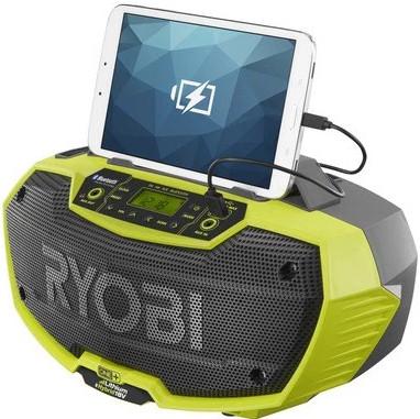 Ryobi 18V AM/FM/MP3 radio - YouTube |Ryobi Work Radio