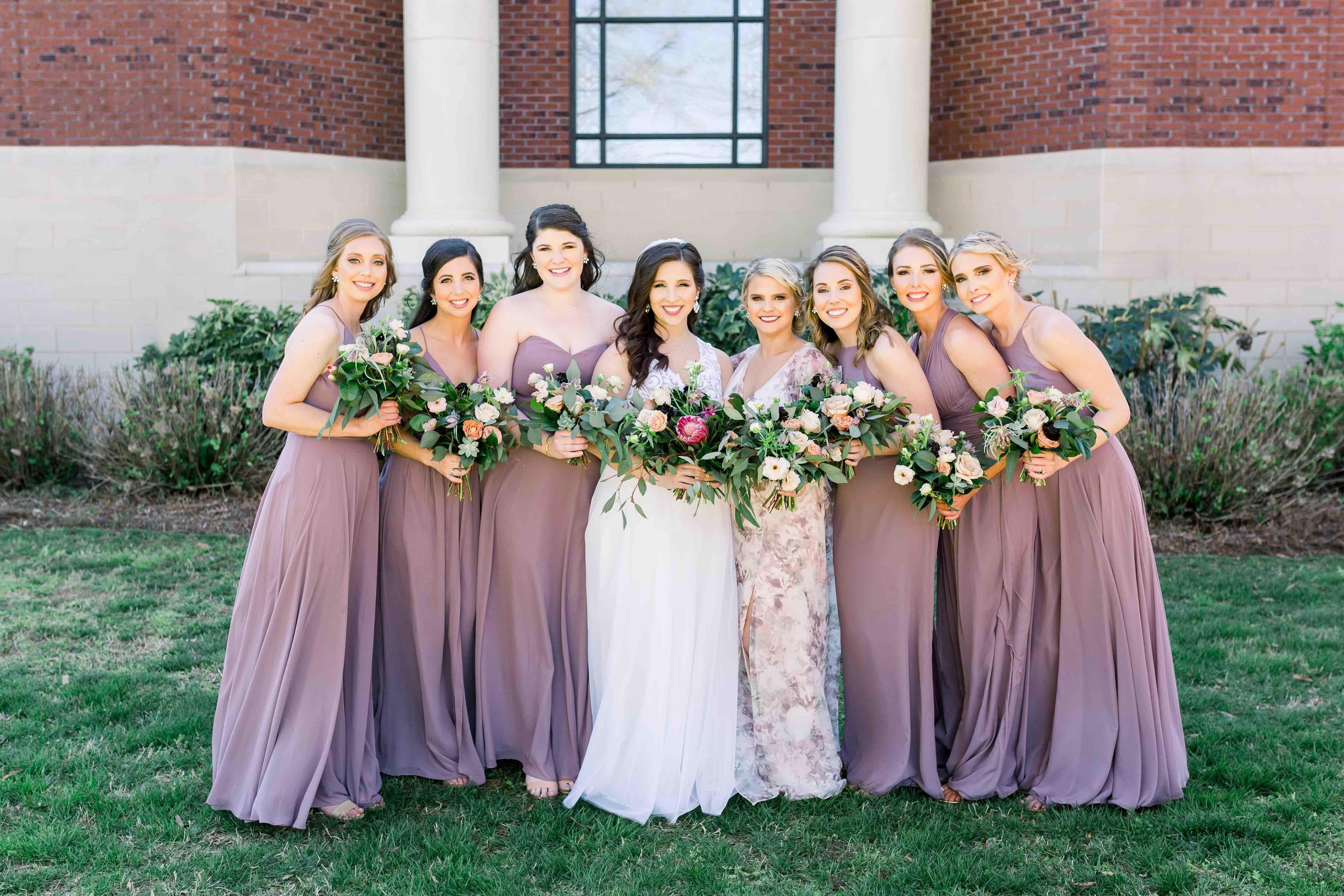 inspiration guide bridesmaids dresses