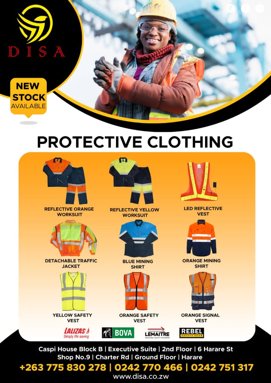 DISA Protective Clothing Flyer