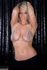nikki sims diamond bikini nipples nipslip topless busty
