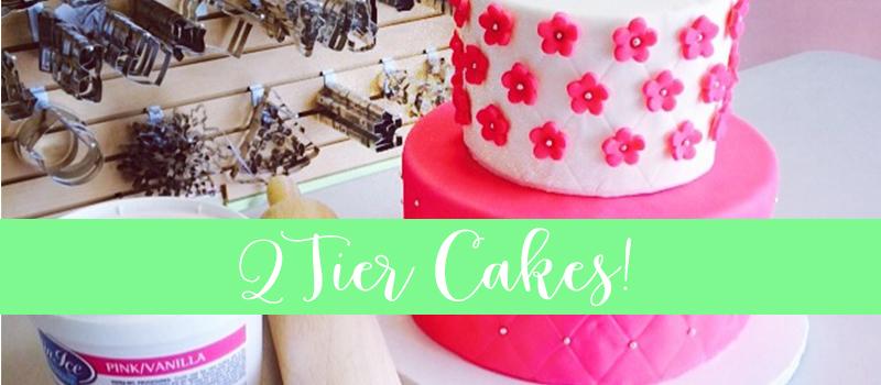 Adult 2 Tier Cake Class