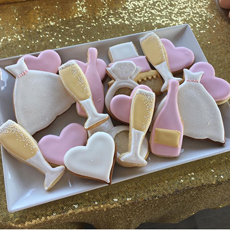 Baking & Bubbly: Valentine's Sugar Cookie Edition