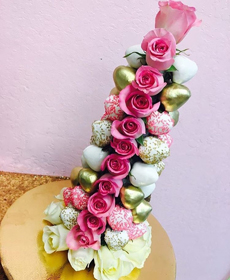 Online Strawberry Rose Tower Class