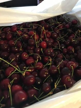Cherries on Cherries on Cherries, we got 11 LBS of these this week!