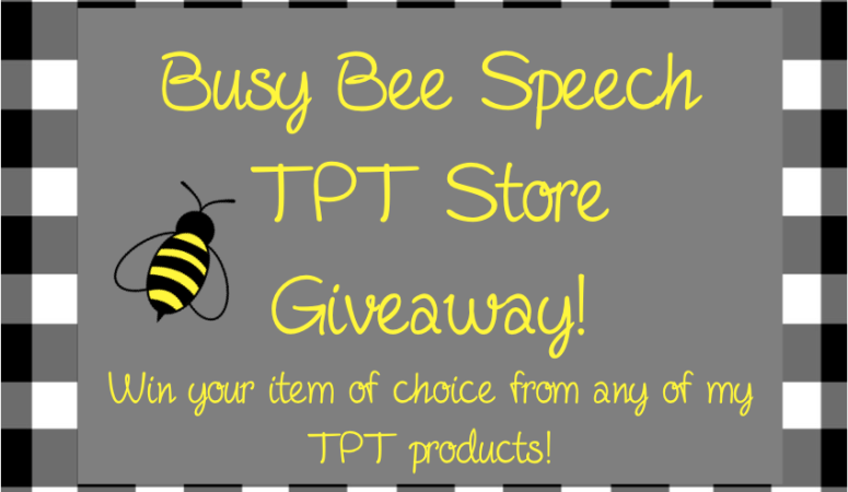 Facebook and TPT Giveaway!!