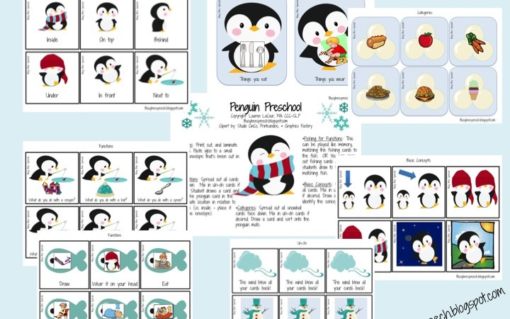 Penguin Preschool Language