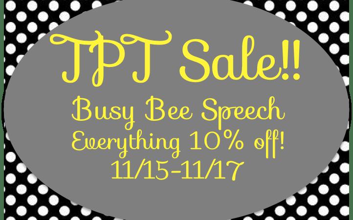 TPT Sale