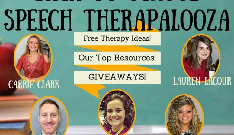 Back to School Speech Therapalooza!