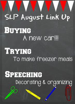 August SLP Link Up :)