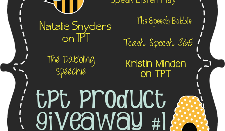 TPT Product Giveaway Pack #1!